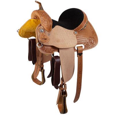 Cactus Saguaro Barrel Saddle 15 Inch