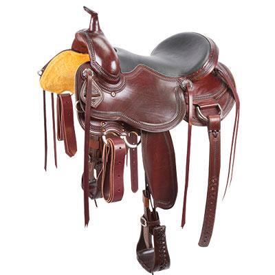 Cactus Flex Trail 250 Western Saddle 17 inch Seat