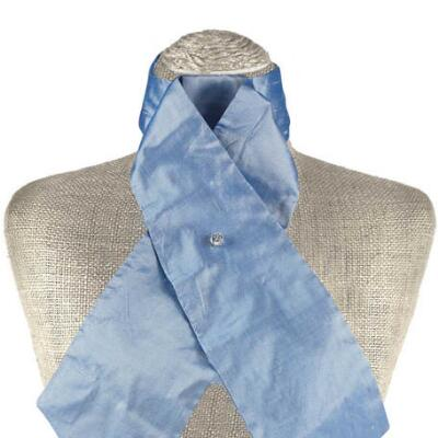 Classic Collection Sky Blue Stock Tie