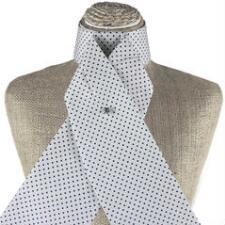 Get Spotted White and Navy Stock Tie - TB