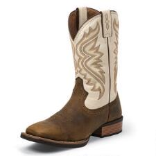 Silver Collection Whiskey Brown Mens Western Boot