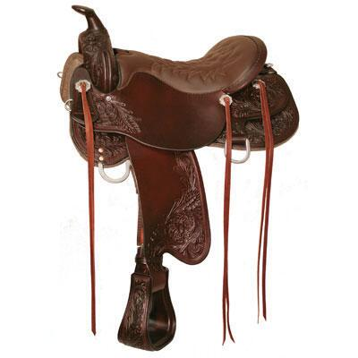 Meadow Creek Trail Saddle 16.5-Medium Tree-Brown