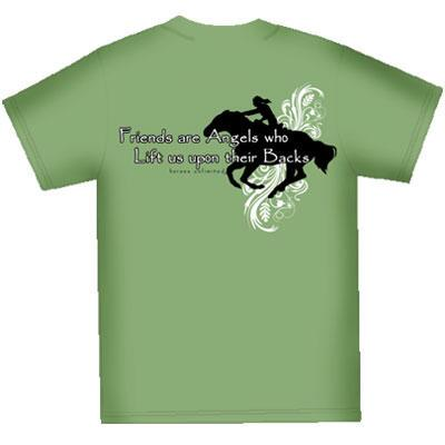 Friends are Angels Ladies Tee