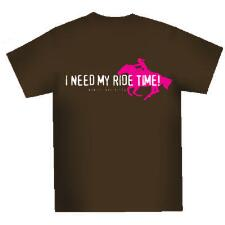 I Need My Ride Time Ladies Tee