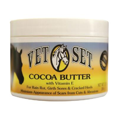 Cocoa Butter with Vitamin E for Horses 7.25 oz Jar