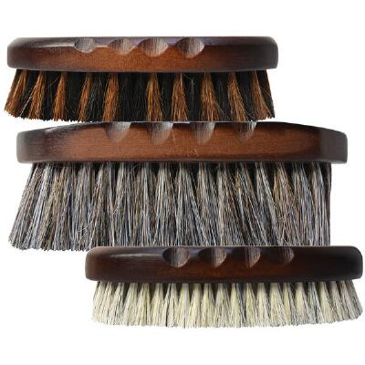 Professionals Choice Wood Series Short Horsehair Brush