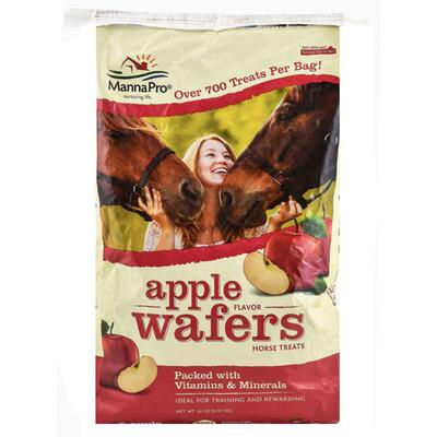 Manna Pro Apple Wafers Treats 20 Lb