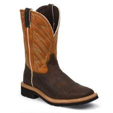Stampede Dark Chestnut Mens Work Boot - TB