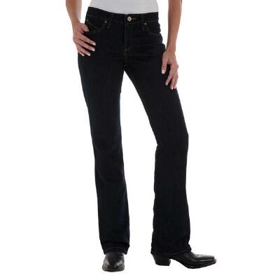 Wrangler Cowgirl Cut Q-Baby Dark Dynasty Ladies Jeans