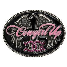 Montana Silversmiths™ Cowgirl Up™ Attitude Belt Buckle