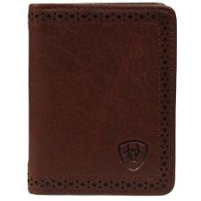 Ariat® Performance Bifold Perf Edge Mens Wallet - TB