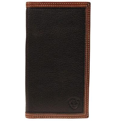 Ariat Rodeo Logo Brand Mens Leather Wallet