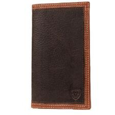 Ariat Rodeo Logo Brand Mens Leather Wallet - TB