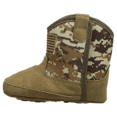 Ariat Lil Stompers Infant Patriot Western Boots