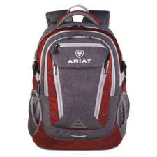 Ariat Burgundy with Grey Accents Backpack - TB