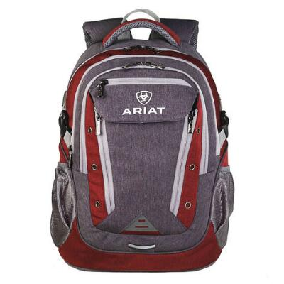 Ariat Burgundy with Grey Accents Backpack