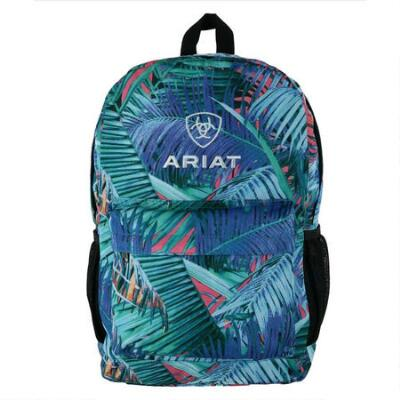 Ariat Blue Tropical Palm Backpack