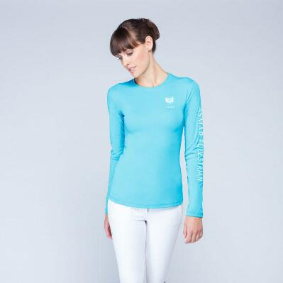 Noel Asmar Logo Long Sleeve Ladies Tee