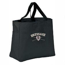 Stirrups Dressage Shield Barn Tote - TB