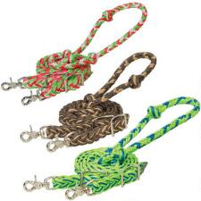 Weaver Waxed Braided Nylon Barrel Reins - TB