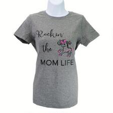 Belle & Bow Mom Life Short Sleeve Ladies Tee - TB