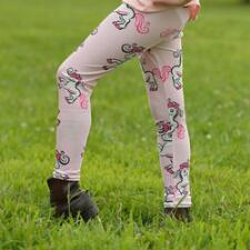 Belle & Bow Pony Youth Tights - TB