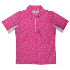 Belle & Bow Short Sleeve Girls Ponies and Bows Sun Shirt - TB
