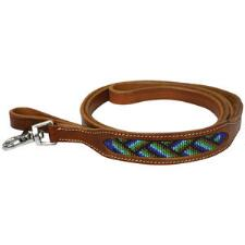 Big Country Tack Cyan Dog Leash - TB