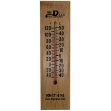Big Dees Wall Mounted Thermometer - TB