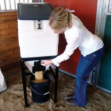 High Country Plastics Feed Bin with Stand - TB
