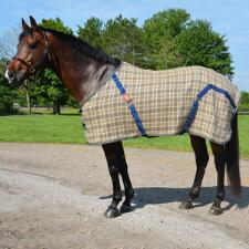 5/A Baker Stable Sheet Deluxe with Lined Shoulders - TB