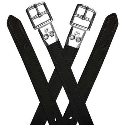 Bates Soft Covered Stirrup Leathers