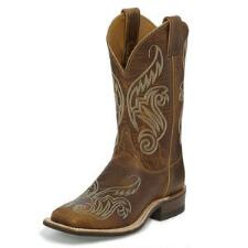 Justin Bent Rail Llano Ladies Western Boot - TB