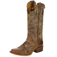 Justin Bent Rail Ainsley Katia Ladies Western Boot - TB