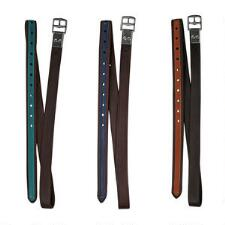 Bates Accented Luxe Stirrup Leathers - TB