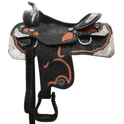 Used Montana Saddlery Custom Western Show/Parade Saddle