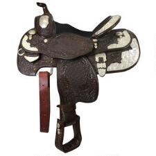 Billy Royal Youth Western Show Saddle - Used - TB