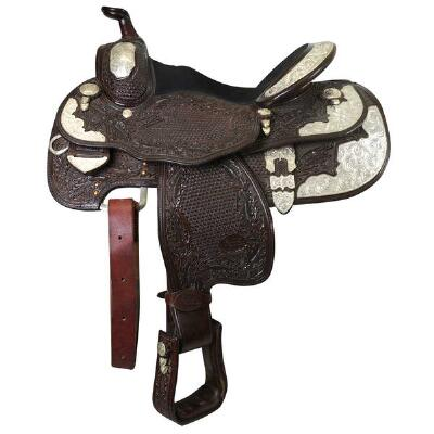 Used Billy Royal Youth Western Show Saddle