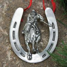 Homestretch Pewter Ornament - TB