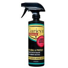 Curicyn Dual Action Gel Insect Barrier Wound Spray 16 oz - TB