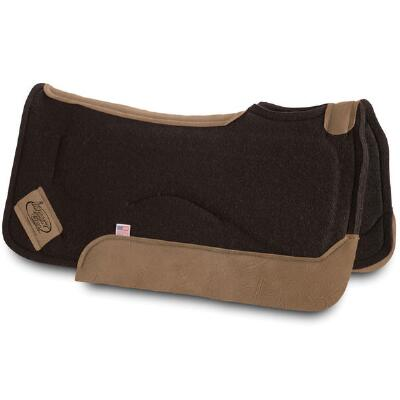 Impact Gel Contour Western Saddle Pad .75 Inch