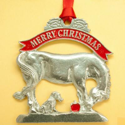 Loriece A Gift Pewter Ornament