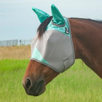 Cashel Crusader Standard Fly Mask with Ears - Seasonal Colors