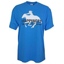 Cowgirls Unlimited Happiness Ladies Tee - TB