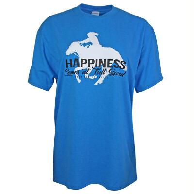 Cowgirls Unlimited Happiness Ladies Tee