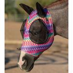 Professionals Choice Comfort Fit Lycra Fly Mask Ears Prints - TB