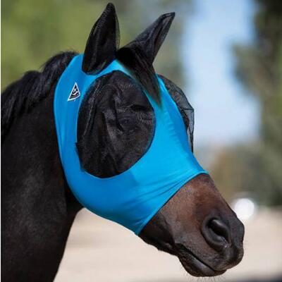 Professionals Choice Comfort Fit Fly Mask with Ears Solid Colors