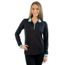Kastel Charlotte Signature Long Sleeve Ladies Shirt Black - TB