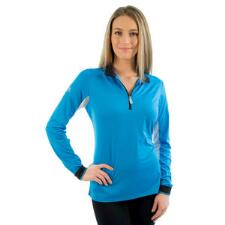 Kastel Charlotte Signature Long Sleeve Ladies Shirt Blue