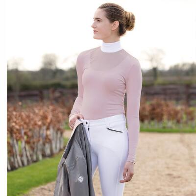 Horseware Lisa Blush Technical Ladies Competition Shirt